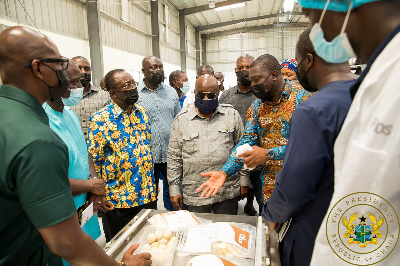 1D1F: Akufo-Addo commissions GH¢10m yam and cassava